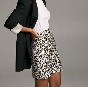 Babaton slip mini skirt